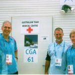 Ross Smith Craig Purdam Caroline Clarke Commonwealth Games Melbourne