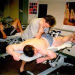 Ross Smith Treats Harvey Goodman Weightlifter Atlanta Games 1996