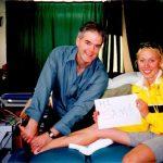 Ross Smith treats Tamsyn Lewis Sydney Olympics 2000