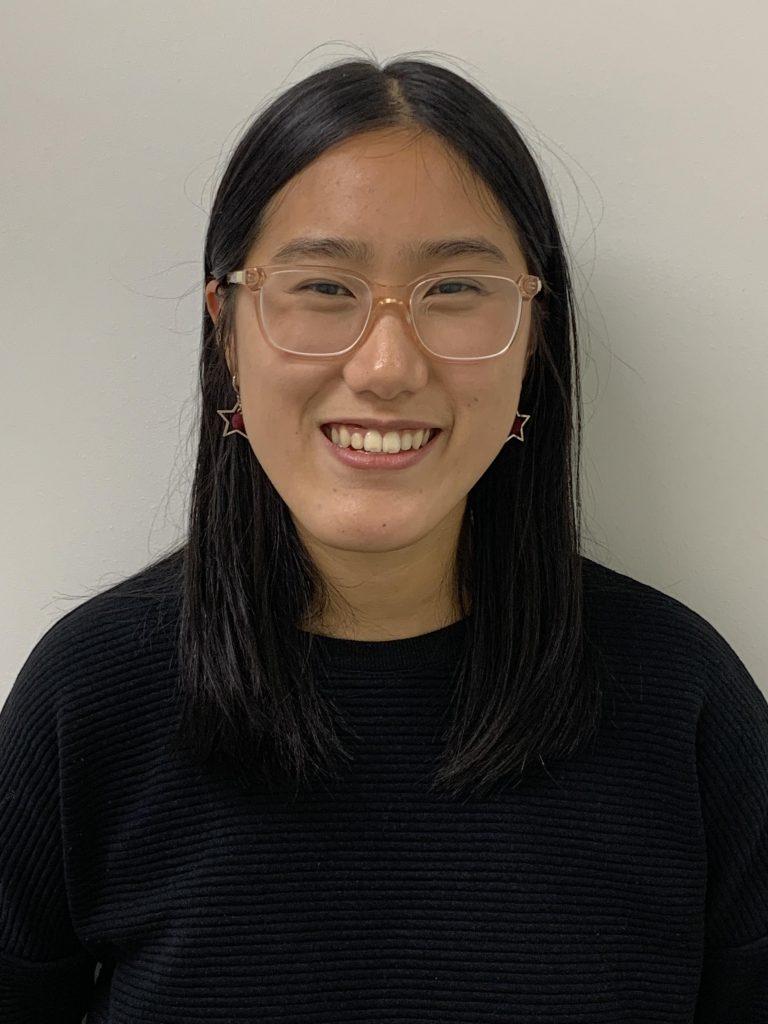 Receptionist Annie Chu